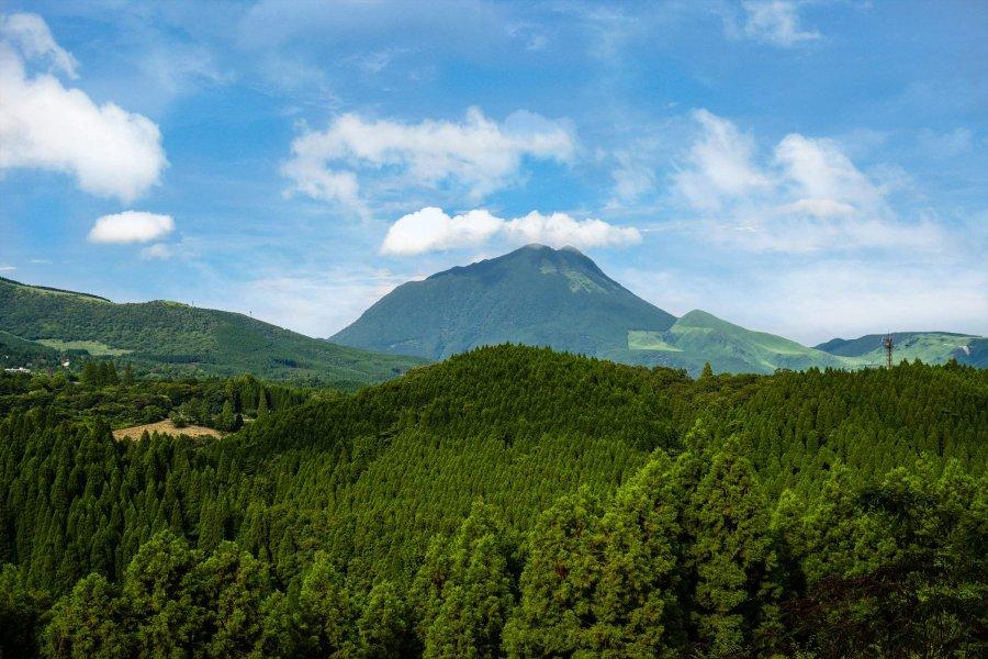 由布岳の四季を堪能